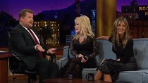 The Late Late Show with James Corden - Episode 47 - Jennifer Aniston, Dolly Parton, Leon Bridges