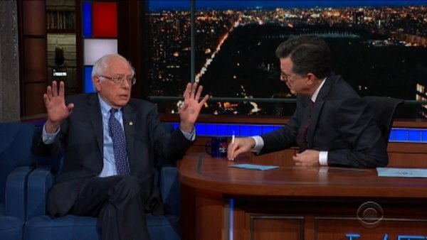 The Late Show with Stephen Colbert - S04E60 - Bernie Sanders, Chris Gethard