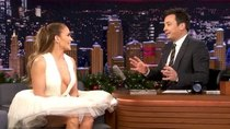 The Tonight Show Starring Jimmy Fallon - Episode 50 - Jennifer Lopez, Robert Klein, J Balvin