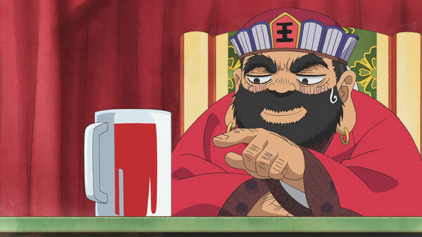 Hoozuki no Reitetsu - Ep. 1 - The Day-to-Day at the Offices of Enma / 1 Soup, 3 Dishes, 10 Meats