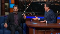 The Late Show with Stephen Colbert - Episode 66 - Tony Shalhoub, Joe Wong, Bryan Cranston, Laura Linney, Rachel...