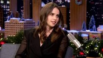 The Tonight Show Starring Jimmy Fallon - Episode 57 - Felicity Jones, Jimmy Carr, Bebe Rexha