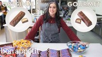 Gourmet Makes - Episode 11 - Pastry Chef Attempts to Make Gourmet Snickers