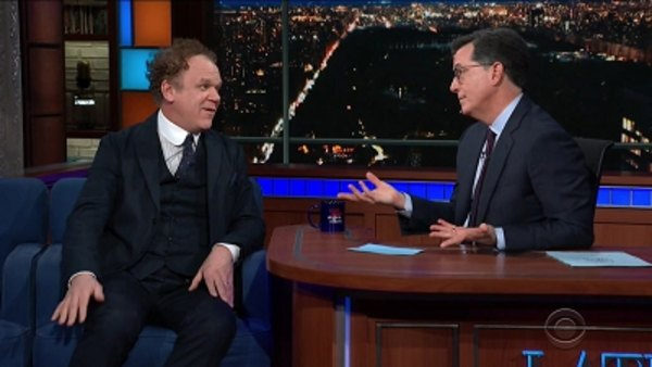The Late Show with Stephen Colbert - S04E70 - John C. Reilly, Sen. Jeff Flake