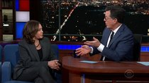 The Late Show with Stephen Colbert - Episode 75 - Kamala Harris, Bradley Whitford, Gary Clark Jr.