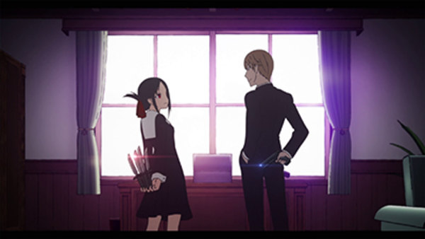 Kaguya-sama wa Kokurasetai: Tensai-tachi no Ren'ai Zunousen - Ep. 1 - I Will Make You Invite Me to a Movie / Kaguya Wants to Be Stopped / Kaguya Wants It