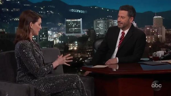 Jimmy Kimmel Live - S17E05 - Anne Hathaway, Colton Underwood, Jacob Banks