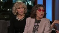 Jimmy Kimmel Live - Episode 7 - Jane Fonda, Lily Tomlin, Stephan James, Sharon Van Etten