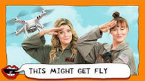 This Might Get - Episode 2 - EATING DORITOS USING A DRONE with Grace Helbig & Mamrie Hart