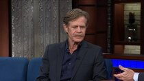 The Late Show with Stephen Colbert - Episode 81 - William H. Macy, Rebecca Traister