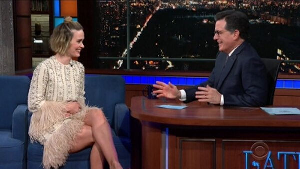 The Late Show with Stephen Colbert - S04E80 - Sarah Paulson, Killer Mike, Future