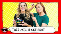 This Might Get - Episode 8 - FACE PAINT MAKEUP CHALLENGE with Grace Helbig & Mamrie Hart