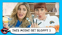 This Might Get - Episode 26 - VEGAN MYSTERY FOOD CHALLENGE with Grace Helbig & Mamrie Hart