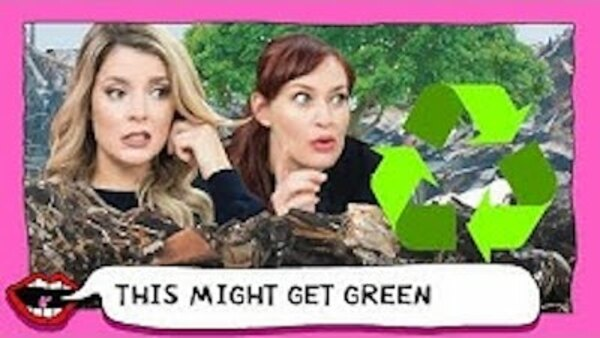 This Might Get - S01E35 - SNOOPING THROUGH CELEBRITY TRASH with Grace Helbig & Mamrie Hart