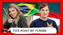 This Might Get - Episode 38 - AMERICANS GUESS COUNTRY FLAGS with Grace Helbig & Mamrie Hart