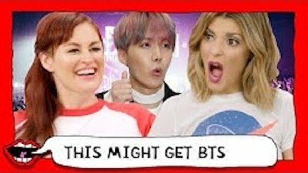 This Might Get - S01E43 - REACTING TO BTS FOR THE FIRST TIME (K-POP) with Grace Helbig & Mamrie Hart