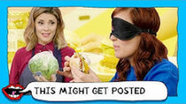 This Might Get - Episode 51 - HOMEMADE BURGER VS RESTAURANT BURGER with Grace Helbig & Mamrie...