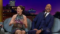 The Late Late Show with James Corden - Episode 7 - Allison Brie, Keegan-Michael Key, Prof. Robert Winston