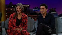 The Late Late Show with James Corden - Episode 9 - Tracey Ullman, Henry Golding, Madison Beer