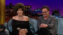 The Late Late Show with James Corden - Episode 11 - Joan Collins, Johnny Galecki, Badflower