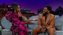The Late Late Show with James Corden - Episode 56 - KiKi Layne, John David Washington, Alec Benjamin