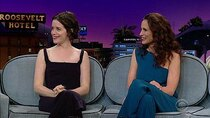 The Late Late Show with James Corden - Episode 60 - Claire Foy, Andie MacDowell, Freya Ridings