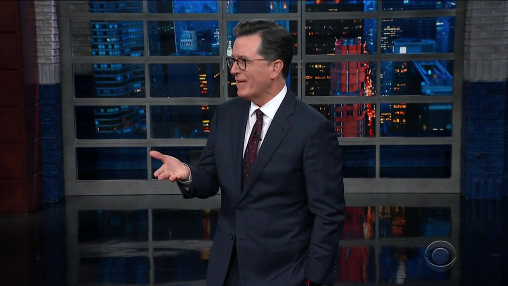 Screenshot of The Late Show with Stephen Colbert Season 4 Episode 83 (S04E83)