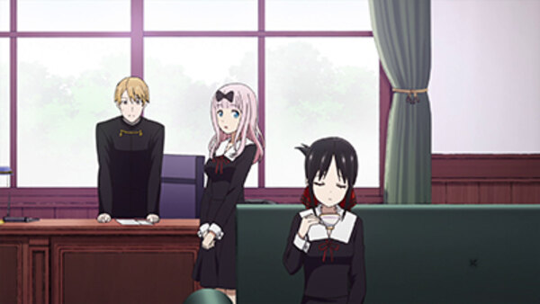 Kaguya-sama wa Kokurasetai: Tensai-tachi no Ren'ai Zunousen - Ep. 3 - Miyuki Shirogane Still Hasn't Done It / Kaguya Wants to Be Figured Out / Kaguya Wants to Walk