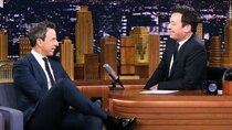 The Tonight Show Starring Jimmy Fallon - Episode 77 - Seth Meyers, Danai Gurira, Dan White