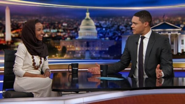 The Daily Show - S24E54 - Ilhan Omar