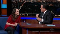 The Late Show with Stephen Colbert - Episode 90 - Ellen Page, Radhika Jones, Django Gold