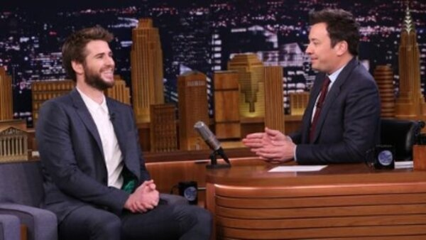 The Tonight Show Starring Jimmy Fallon - S06E81 - Liam Hemsworth, Jessica Williams, Rob Gronkowski, Ronnie Milsap ft. Little Big Town