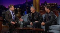 The Late Late Show with James Corden - Episode 74 - Matt LeBlanc, Will Arnett, Broods