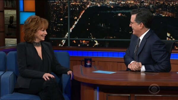 The Late Show with Stephen Colbert - S04E104 - Reba McEntire, Margaret Brennan