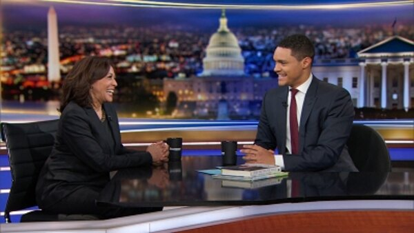 The Daily Show - S24E65 - Kamala Harris