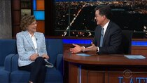 The Late Show with Stephen Colbert - Episode 105 - Annette Bening, Ana Navarro, Ben Platt