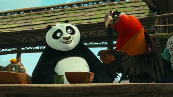 Kung Fu Panda: The Paws of Destiny - S01E04 - The Intruder Flies a Crooked Path