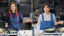 Back to Back Chef - Episode 8 - Ellie Kemper Tries to Keep Up with a Professional Chef
