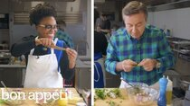 Back to Back Chef - Episode 11 - Daniel Boulud Challenges Amateur Cook To Keep Up With Him