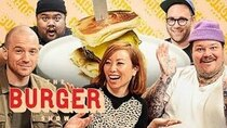 The Burger Show - Episode 4 - Sean Evans, Matty Matheson, and Miss Info Judge a Stunt Burger...