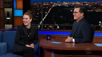 The Late Show with Stephen Colbert - Episode 107 - Julianne Moore, Thomas Lennon, Bebe Rexha
