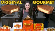 Gourmet Makes - Episode 14 - Pastry Chef Attempts to Make Gourmet Reese's Peanut Butter Cups