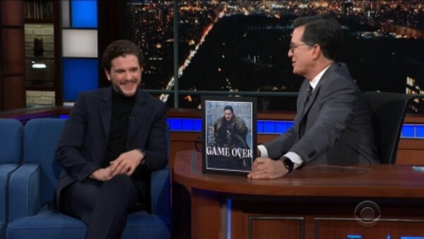 The Late Show with Stephen Colbert - S04E108 - Kit Harington, Amber Tamblyn, Hozier