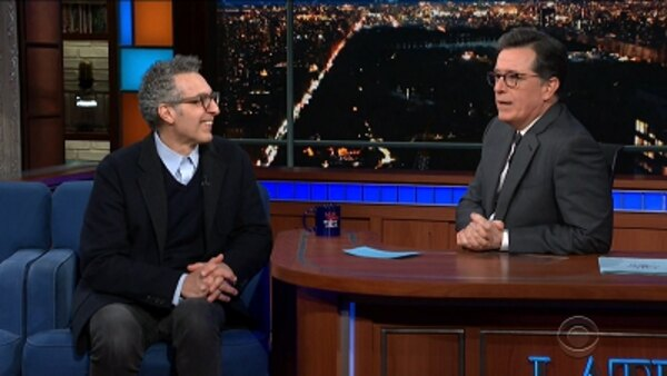 The Late Show with Stephen Colbert - S04E113 - John Turturro, Andrew Rannells, Robyn