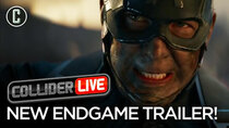 Collider Live - Episode 41 - Avengers Endgame Trailer Drops Unexpectedly: Our Review (#92)