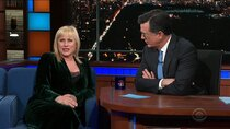 The Late Show with Stephen Colbert - Episode 114 - Patricia Arquette, Ian McShane, Strand of Oaks, Jason Isbell,...