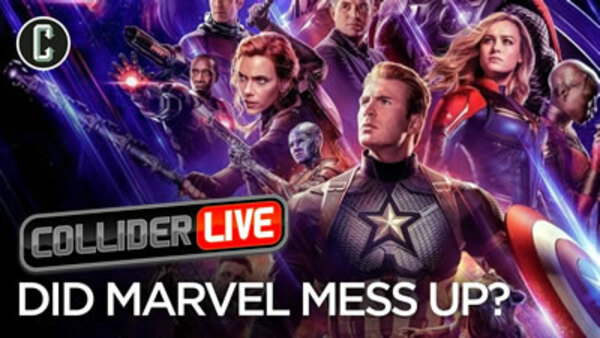 Collider Live - S2019E42 - Avengers: Endgame Poster Backlash Shows Results (#93)
