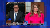 The Late Show with Stephen Colbert - Episode 116 - Laura Benanti, Donnie Wahlberg, Heidi Schreck, Christine Baranski
