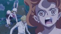 One Piece - Episode 876 - The Man of Humanity and Justice! Jimbei, a Desperate Massive...