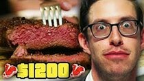 The Try Guys - Episode 25 - Keith Eats $1200 Of Steak | Eat The Menu